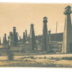 2623 - CAMPINA, Prahova, Oil Well, Romania - old postcard, real PHOTO - unused