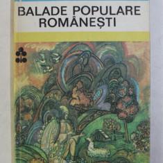 BALADE POPULARE ROMANESTI , coperta si ilustratii de THEODOR BOGOI , 1984