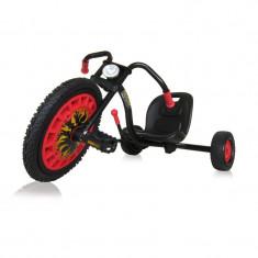 Kart pentru copii Hauck Typhoon, scaun ergonomic, frana de mana