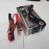 Invertor de tensiune auto 12-220v putere 1000w