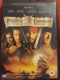 Pirates of the Caribbean - The curse of the Black Pearl  -  DVD, Engleza
