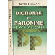 Dictionar De Paronime I - Nicolae Felecan