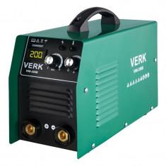 Aparat sudura Verk VWI-200B, iesire 200 A, tip invertor