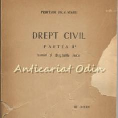 Drept Civil - V. Negru