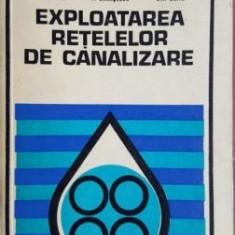 Exploatarea retelelor de canalizare