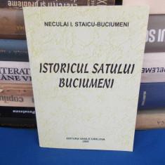 NECULAI I. STAICU-BUCIUMENI ~ ISTORICUL SATULUI BUCIUMENI , 2000
