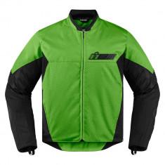 Geaca moto Icon Konflict culoare Verde/ Negru, marime XL Cod Produs: MX_NEW 28203891PE