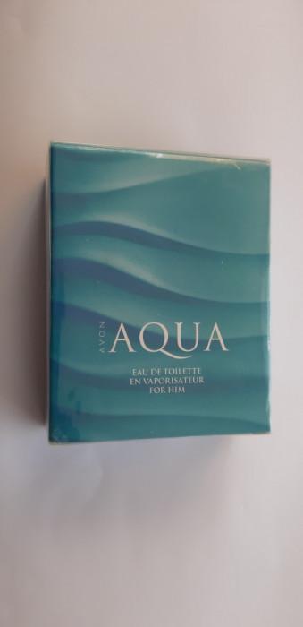 APA DE TOALETA  AQUA  PENTRU EL -  AVON ,75 ml  SIGILAT !