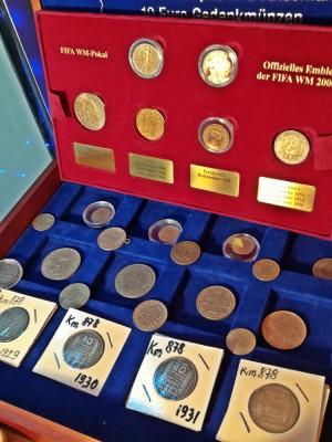 Monede din argint romanesti si straine foto