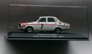 Macheta raliu Renault 12 Gordini (Dacia 1300) 1973 - Rally Atlas 1/43