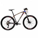 Bicicleta MTB Devron Riddle R7.7 M 457mm Race Black 27.5