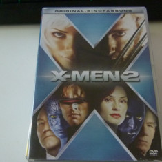 X-men 2, DVD, Engleza