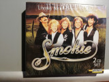Smokie - Living Next Door...2 CD (1989/Laserlight/RFG) - CD ORIGINAL/Sigilat/Nou