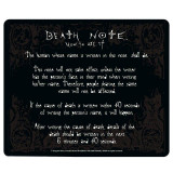 Mousepad ABYStyle Death Note Rules