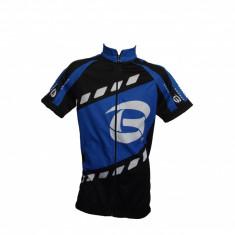 Tricou Ciclism Copii Negru/Albastru Marime 12 AniPB Cod:MXBEL035, Tricouri