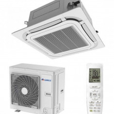 Aparat aer conditionat tip Caseta Gree GUD160T/A-T-GUD160W/NhA-T Inverter 55000 BTU A++ Alb