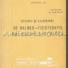Studii Si Lucrari De Balneo-Fizioterapie, Boli Digestive Si De Nutritie XII