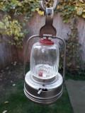 Lampa turistica romaneasca comunista Metaloglobus veche
