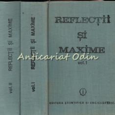 Reflectii Si Maxime I, II - Editie Ingrijita: Constantin Badescu
