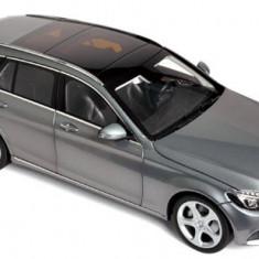 Macheta Auto Norev, Mercedes-Benz C-Klasse Estate 2014 - Gri Metallic 1:18