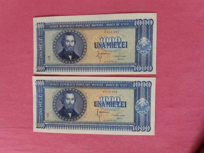 Bancnote romanesti 1000lei 1950 aproape unc