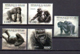 BURUNDI 2012, Fauna - Gorile, MNH, Nestampilat