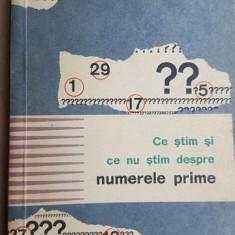 Ce stim si ce nu stim despre numerele prime- W. Sierpinski
