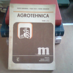 AGROTEHNICA DE ST.PUIU SI GH.TROFIN MANUAL CLASA IX