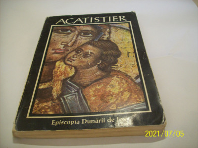 acatistier- episcopia dunarii de jos an 1994 foto