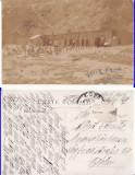 Constanta -Baile Duduia- militara WWI, WK1, Circulata, Printata