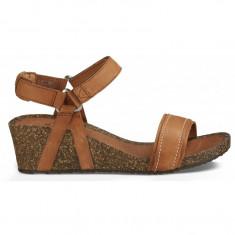 Sandale Femei casual Piele Teva Ysidro Stitch Wedge