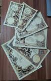 Lot de 6 Emisiunea Completa 1877 - Bilet Hypothecar REPRODUCERE