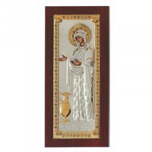 Icoana Sporul Casei, Foita Argint 925 si Aur, 16.5x36cm Cod Produs 784