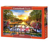 Puzzle Biciclete in Amsterdam, 1000 piese, castorland