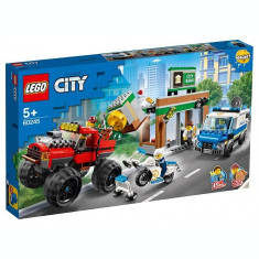 LEGO City - Furtul cu Monster Truck 60245