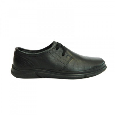 Pantofi pentru barbati din piele naturala, Pablo Gitanos, Negru, 39 EU foto