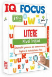 Litere - Nivel Initiat - Dezvolta puterea de concentrare, logica si motricitatea fina/***, Gama