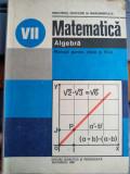 Matematică-Algebră - Manual pentru clasa a VII-a