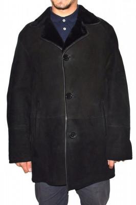 Cojoc barbati, din blana naturala, marca Kurban, 22-01-95, negru foto