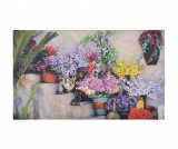 Covoras de intrare Flowers on Stairs 45x76.2 cm