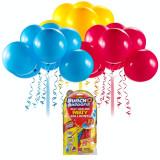 Set baloane Bunch O Ballons Party, 24 bucati, Rosu/Galben/Albastru, General