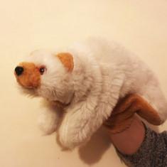 Marioneta teatru de papusi urs polar, papusa de mana