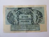 Cumpara ieftin Rară! Germania 1 Milion Mark/Mărci 1923 Gutschein/Munchen