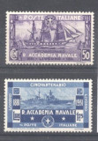 Italy 1931 Anniversary, Naval academy, MNH AM.124