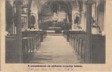 Interior biserica catolica din Resita carte postala, Circulata, Printata