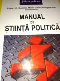 MANUAL DE ȘTIINȚĂ POLITICĂ - GOODIN, KLINGEMANN, ED POLIROM ,2005, 734 P