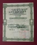 Actiuni per. interbelica Agrara - titltu - Masini agicole si industriale