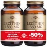 Lecithin 1360mg Solgar 100cps 1+1-50% Cod: 29874