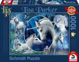 Cumpara ieftin Puzzle Unicorni fermecatori, 1000 piese, Schmidt