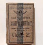 Cumpara ieftin CFR Carnet de identitate pentru sotia functionarului public vizat 1925